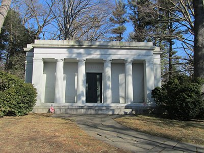 Chrysler Mausoleum, Sleepy Hollow Cemetery