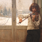 Salvatore Postiglione, Boy with Violin