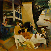 Robert Lotiron, Café Near River
