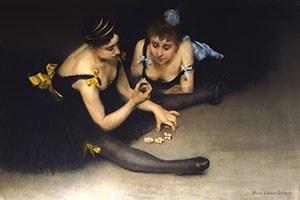 June 11, 2021 | Pierre Carrier-Belleuse, Two Ballerinas