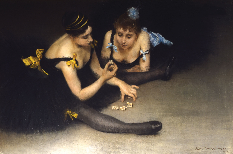 June 11, 2021   Pierre Carrier-Belleuse, Two Ballerinas