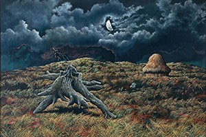 October 2021 | John Rogers, Cox Nocturne - Silver and Grey