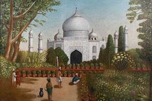 March 19, 2021 | Erastus Salisbury Field, The Taj Mahal
