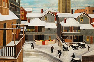 March 5, 2021 | Ethel Robertson Gath, Shoveling Snow
