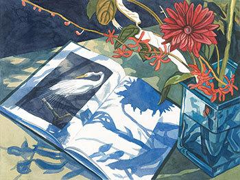 JANE GOLDMAN, AMERICAN, BORN 1951. AUDUBON 15, 2018. ARCHIVAL PIGMENT PRINT ON PAPER. 15 X 20 INCHES