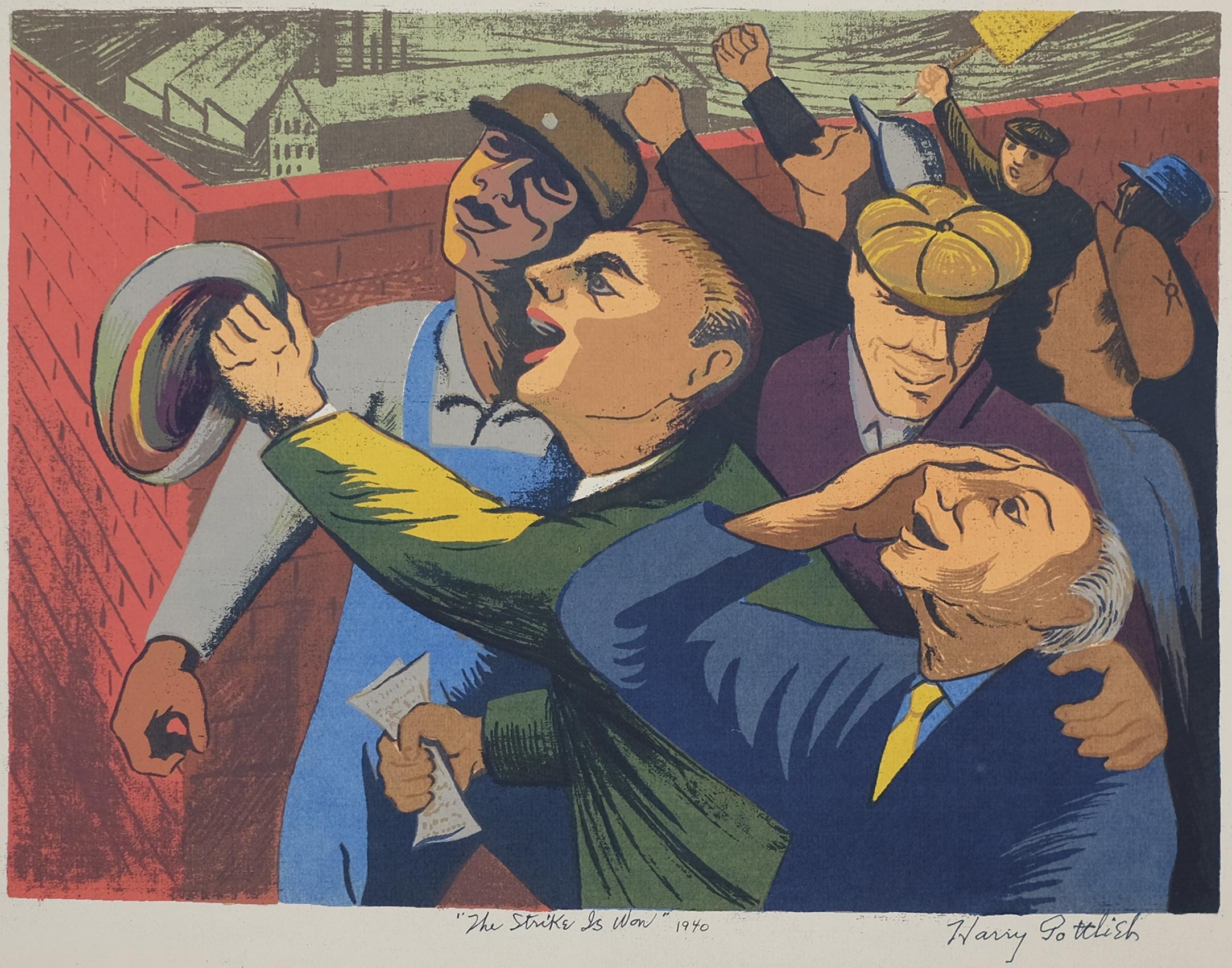 June 25, 2021   Harry Gottlieb, The Strike is Won