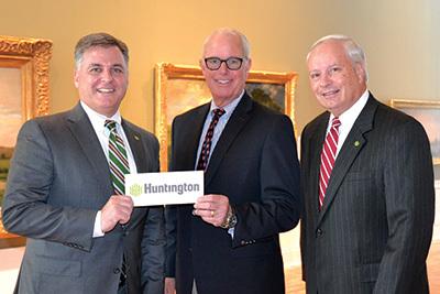 Huntington Bank Check Presentation