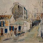 Maurice Utrillo, Le Lapin Agile