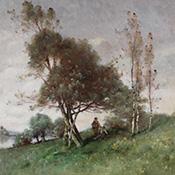 Paul Désiré Trouillebert, On the Seine, Normandy