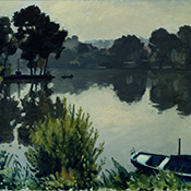 Albert Marquet, Poissy, la barque verte