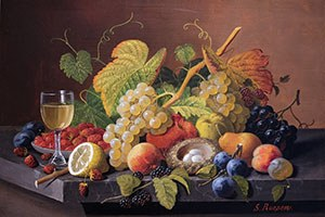August, 2021 | Severin Roesen, Still Life with Fruit