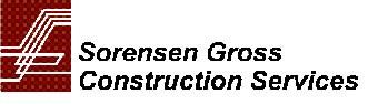 Sorensen Gross Construction Services logo