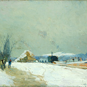 Albert Lebourg, Effet de Neige aux Portes de Paris