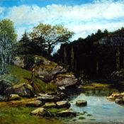 Gustave Courbet, Le Ruisseau de Plaisir-Fontaine