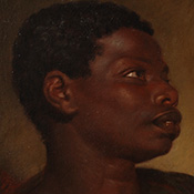 Jean-Baptiste-Jacques (attributed to) Augustin, Study of a Black Youth