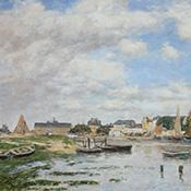 Eugéne-Louis Boudin, Trouville, L'Avant Port