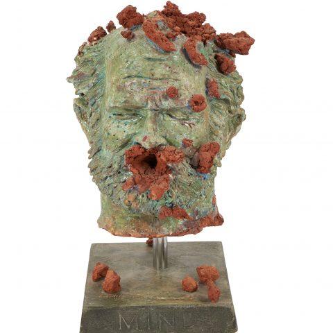Robert Arneson Local Mind Disaster, 1972  Earthenware 2016.9