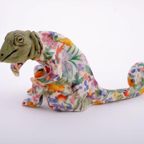 Carol Gentithes Madagascar, 2003 Glazed and polychrome porcelain 2015.102