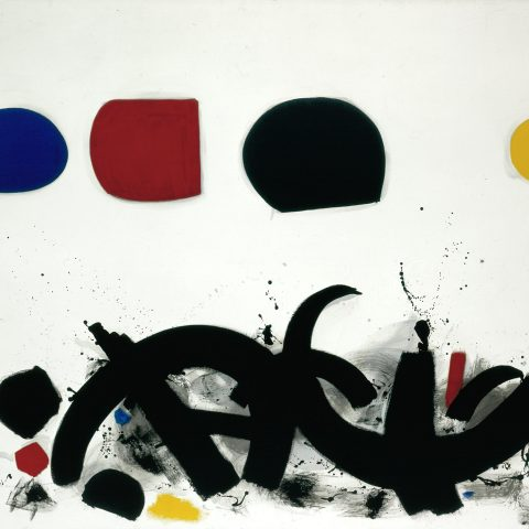 Adolph Gottlieb Conflict, 1966 Oil on canvas 1966.23