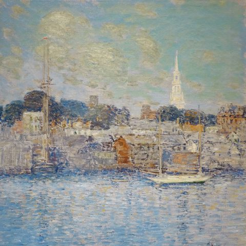 Childe Hassam Newport Waterfront, 1901 Oil on canvas 1972.31 Audio Guide