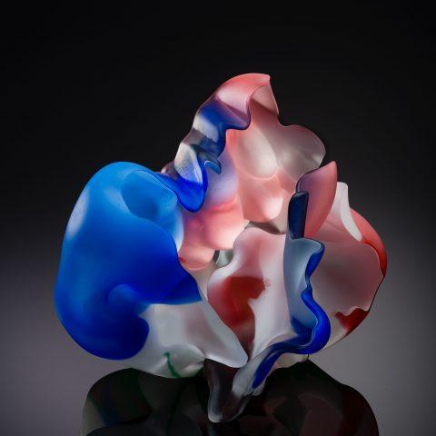 Marvin Lipofsky IGS VI # 8, 1997-98 Acid-polished blown glass L2017.78