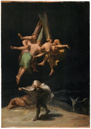 Francisco de Goya y Lucientes Spanish, 1746–1828 Witches' Flight, ca. 1798 Oil on canvas Copyright ©Museo Nacional del Prado