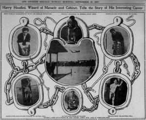 Houdini – Los Angeles Herald article September 29, 1907