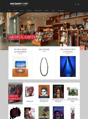 Museum Shop Online Store Screenshot
