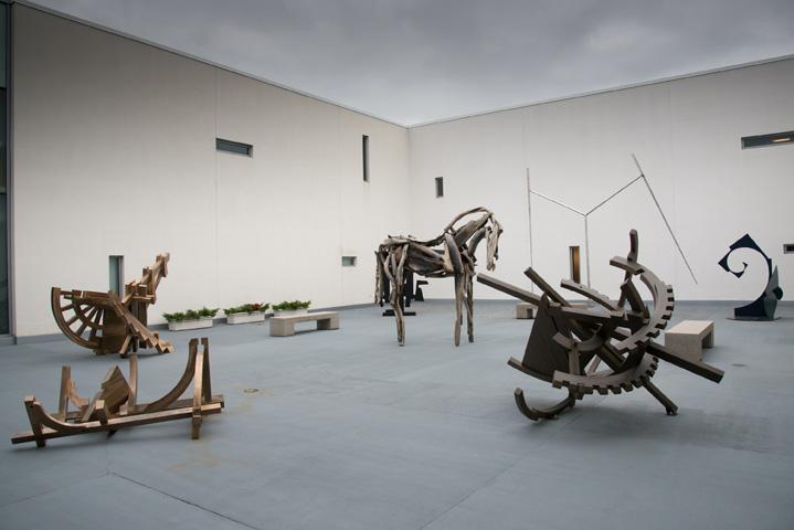 Hurand Sculpture Courtyard